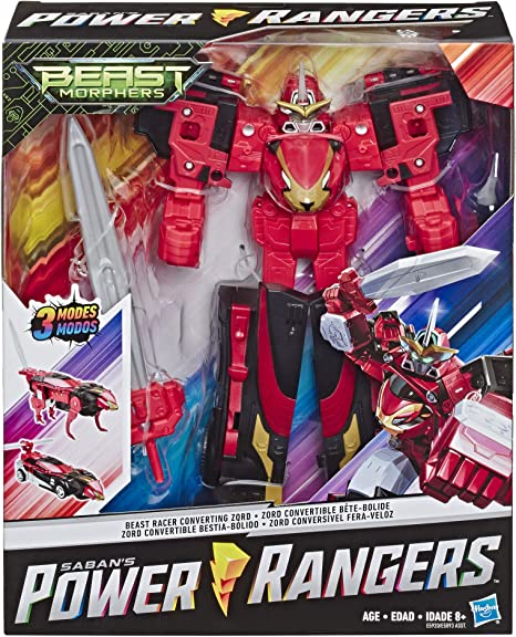 Power Rangers Beast Morphers Beast Chopper Convertible Zord NEW