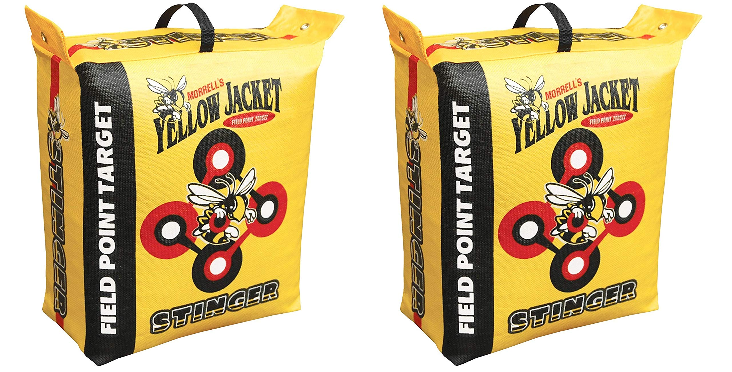 Morrell Yellow Jacket Stinger Field Point Bag Archery Target - Great for Compound and Traditional Bows (2-Pack)