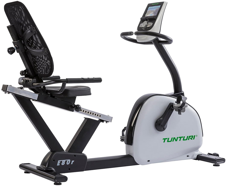 Tunturi E80-R Bike Endurance, Unisex-Adult, Black/White