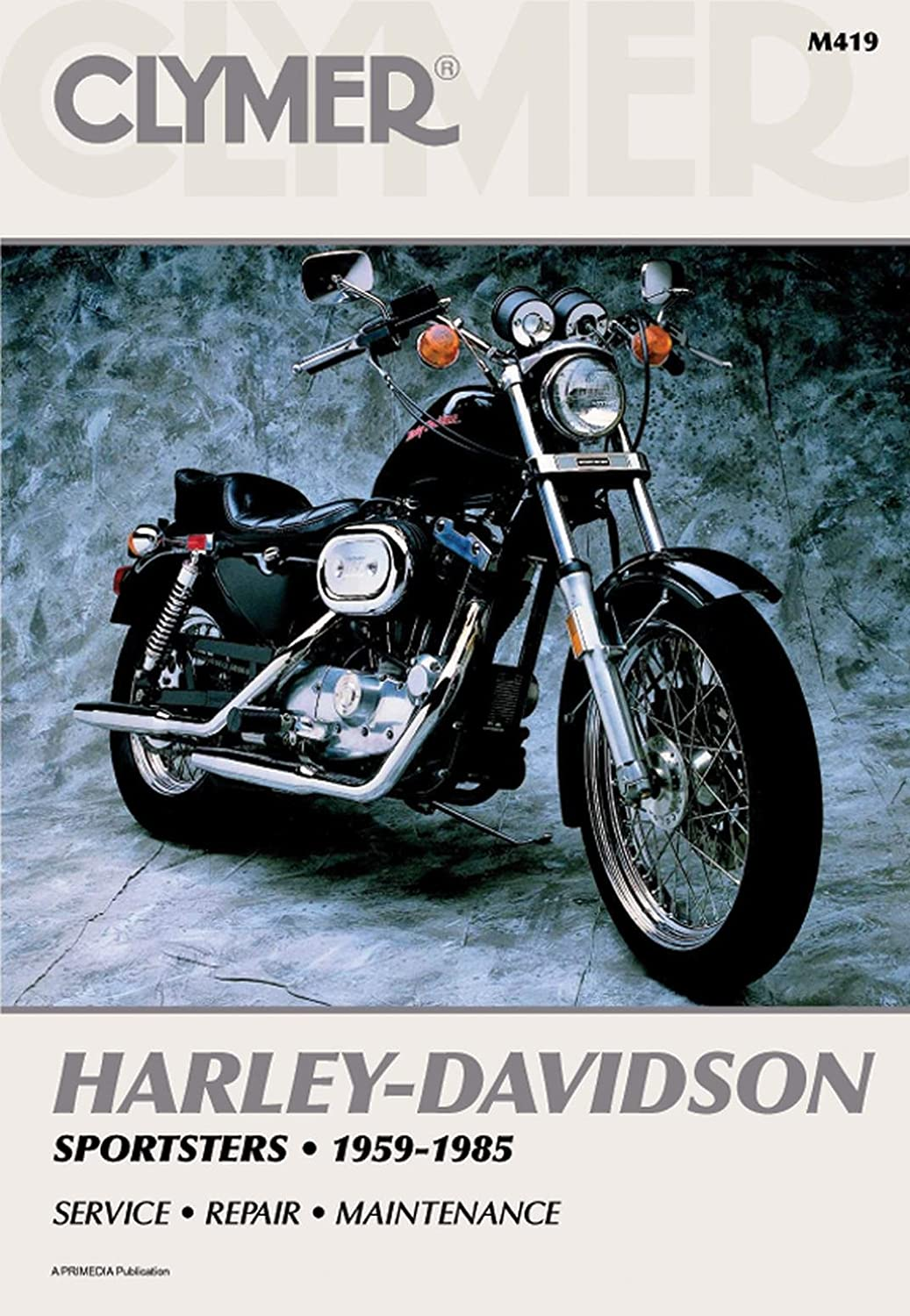 Clymer Repair Manual for Harley Sportster XLH/XLCH/XL 59-85