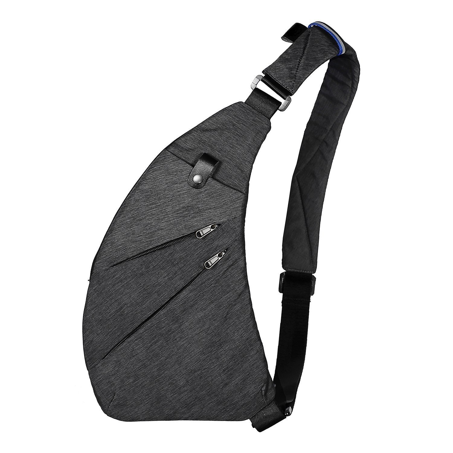 Sling Bag Shoulder Chest Bag Multi Purpose Anti Theft Cross Body Backpack Casual Pack Daypack Bags