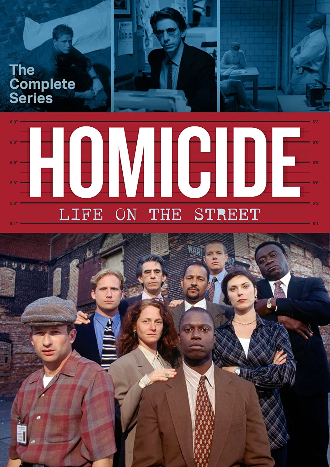 Amazon.com: Homicide: Life On The Street: The Complete Series: Andre  Braugher, Melissa Leo, Ned Beatty, Kyle Secor, Yaphet Kotto, Barry  Levinson: Movies & ...