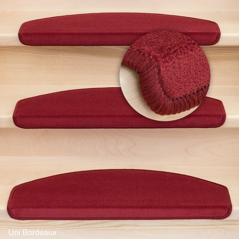 Stufenmatten Vorwerk Halbrund Uni Bourdaux - Set 15 Stück