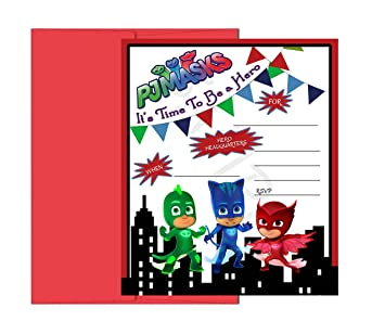 Amazon.com : PJ Mask Party Supplies (Party Game) : Grocery & Gourmet Food