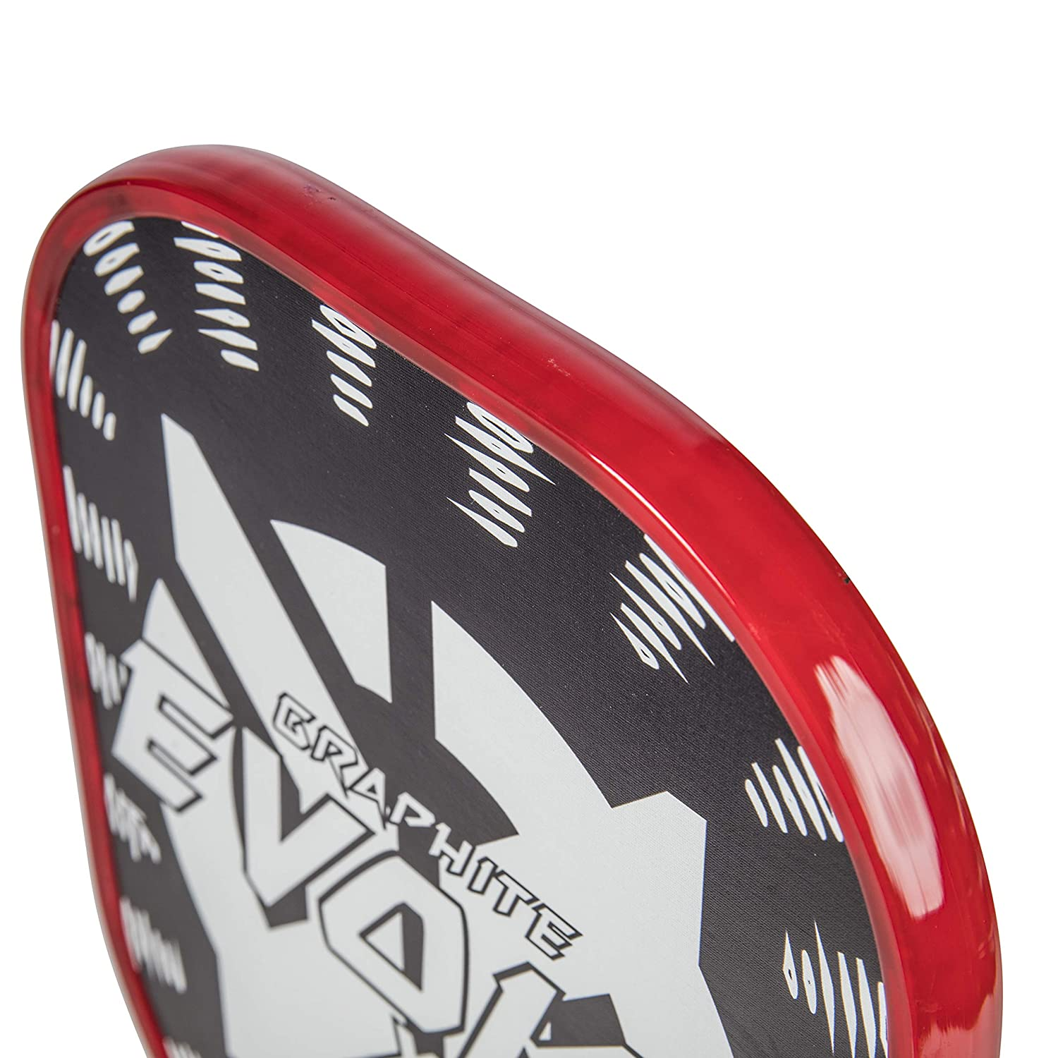 Graphite Face Onix Graphite Evoke XL Pickleball Paddle Features Polypropylene Core and Oversized Shape