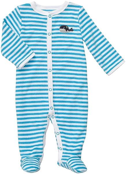 306cf6d003d1 Amazon.com  Carter s Baby Girl s Easy Entry Terry Sleep N Play  Clothing