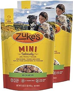 product image for Zuke's Mini Naturals Dog Treats Duck Recipe 16 oz 2 Pack