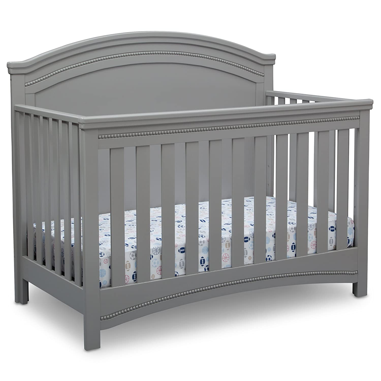 Simmons Kids SlumberTime Emma Convertible Baby Crib N More, Grey