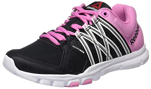 5052bfabcf48c8 Reebok Women s Yourflex Trainette 8.0 Fitness Shoes  Amazon.co.uk ...