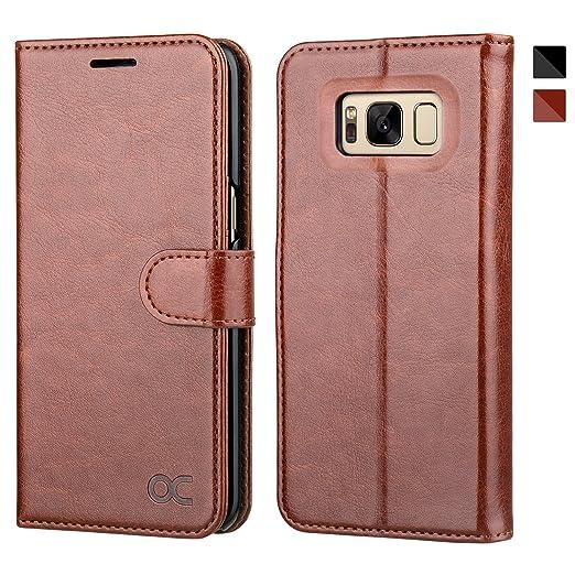 8 opinioni per OCASE Cover Samsung Galaxy S8 (5.8 inch) [Portafoglio] Custodia di Pelle Case