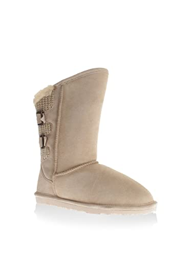 GOOCE Damen Meije Stiefel, Sand, 40 EU: : Schuhe