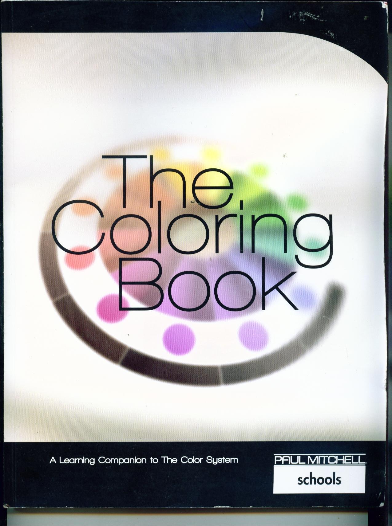 the coloring book paul mitchell schools workbook 2009 paul mitchell rh amazon com