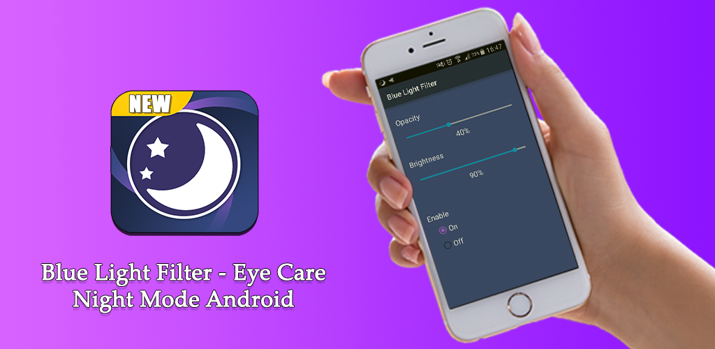 Blue Light Filter - Eye Care, Night Mode Android