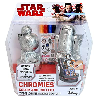 Tara Toys Star Wars Chromies Color and Collect Figures: Toys & Games