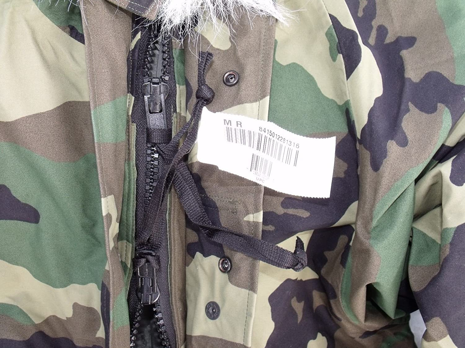 Amazon.com: New US Army Cold Wet Weather Gen 1 ECWCS Woodland ...