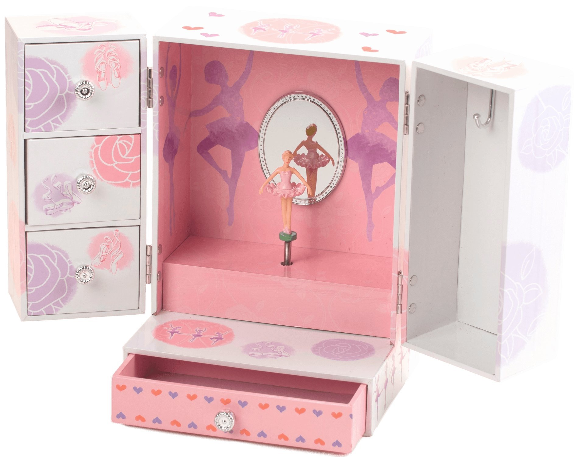 The San Francisco Music Box Company Ballerina Ultra Fancy Box