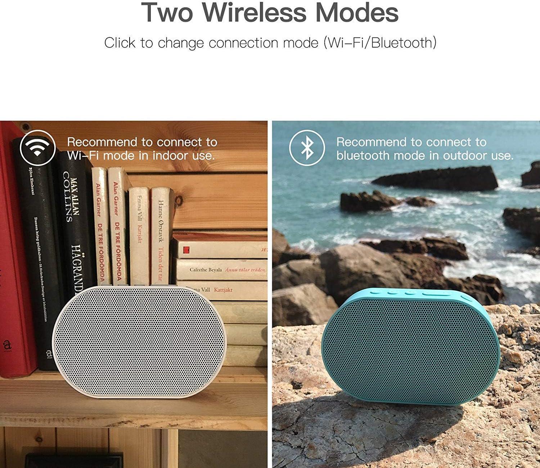 WLAN Lautpsrecher Smart Home Ger/ätekontrolle WLAN//Airplay//DLNA//TuneIn 10W 2200mAh Multiroom-Lautpsrecher GGMM Smart Lautsprecher Wei/ß