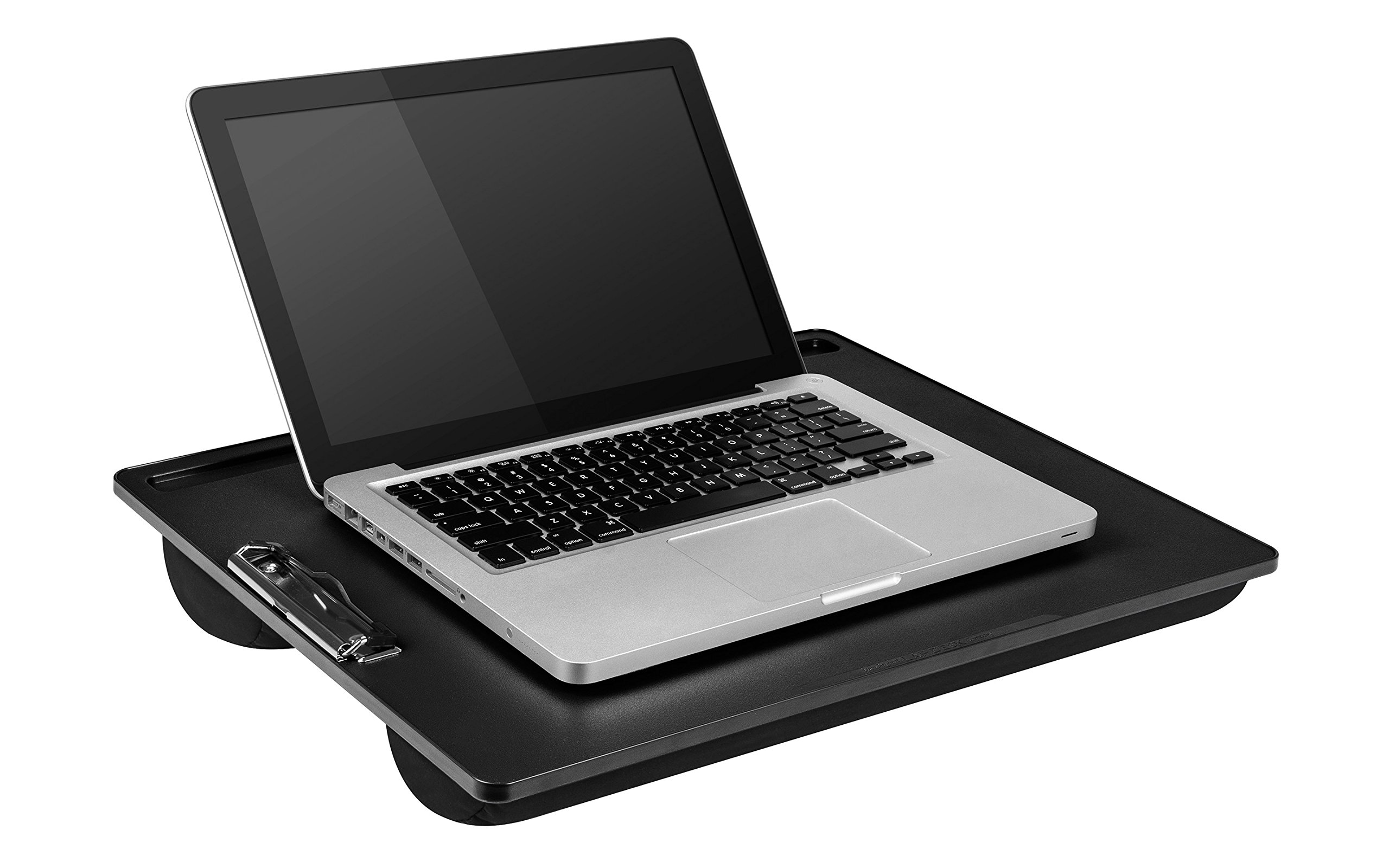 LapGear Clipboard Lap Desk - Black (Fits up to 17.3'' Laptop)