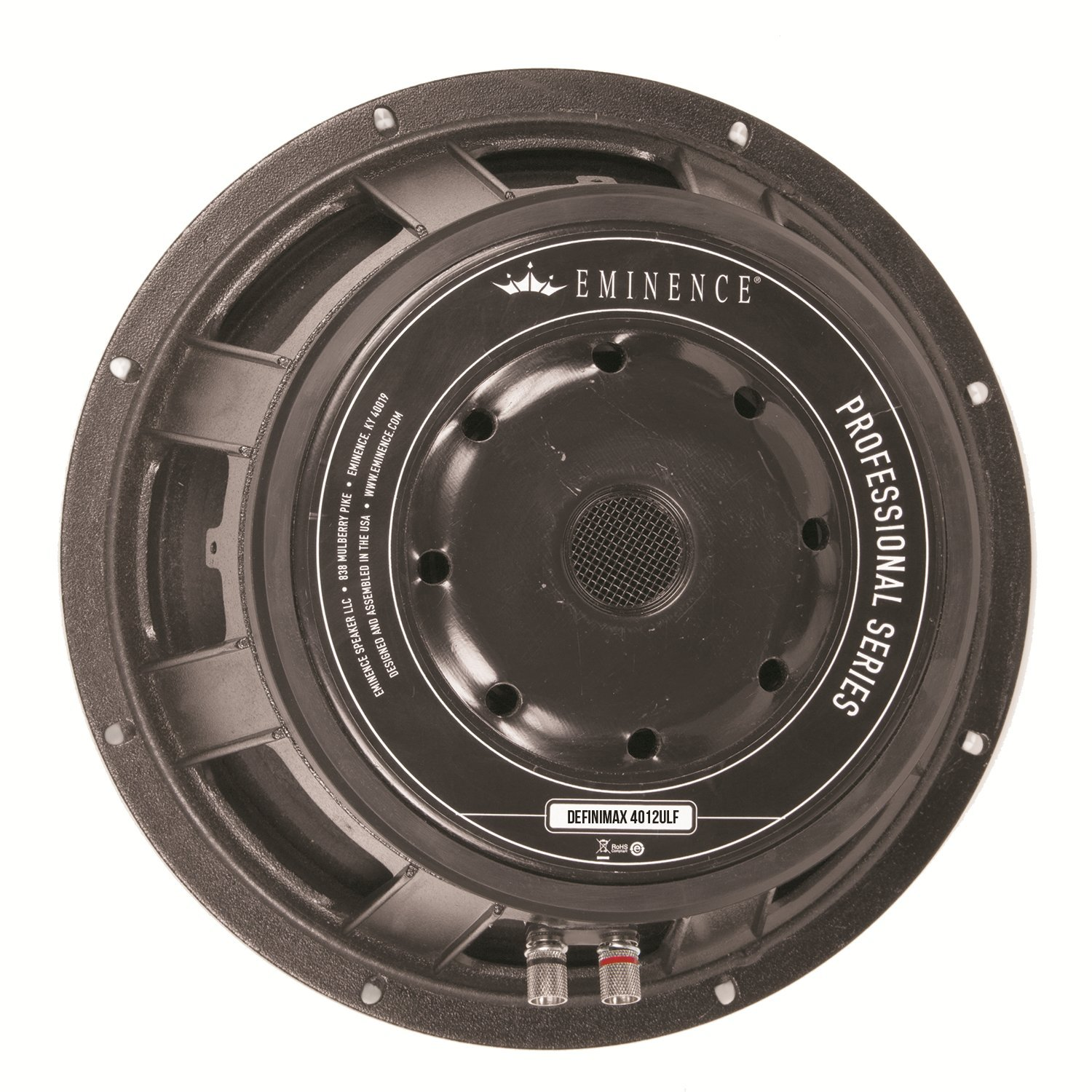 Eminence Professional Series Definimax 4012ULF-8 12'' Pro Audio Speaker, 1200 Watts at 8 Ohms