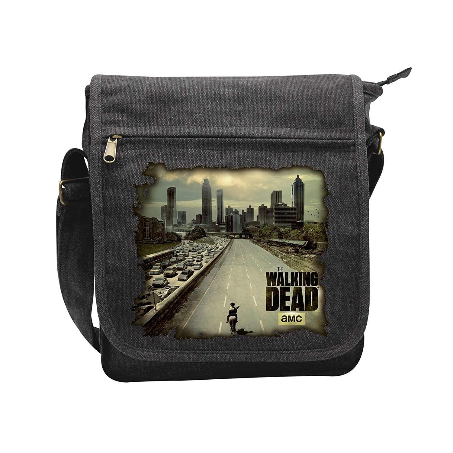 ABYstyle - THE WALKING DEAD - Sac Besace 'Atlanta' Petit Format ABYBAG140
