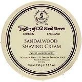 Taylor of Old Bond Street Sandalwood Shaving Cream Bowl, 5.3-Ounce 2PK