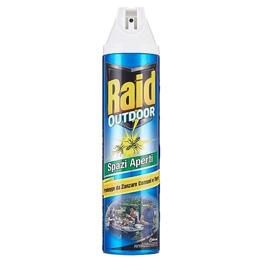 2 opinioni per Raid Outdoor Insetticida Spray- 400 ml
