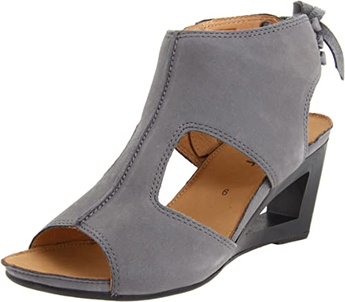GABOR OF GERMANY Ankle Strap Sandal Platform Sz US 9 9.5