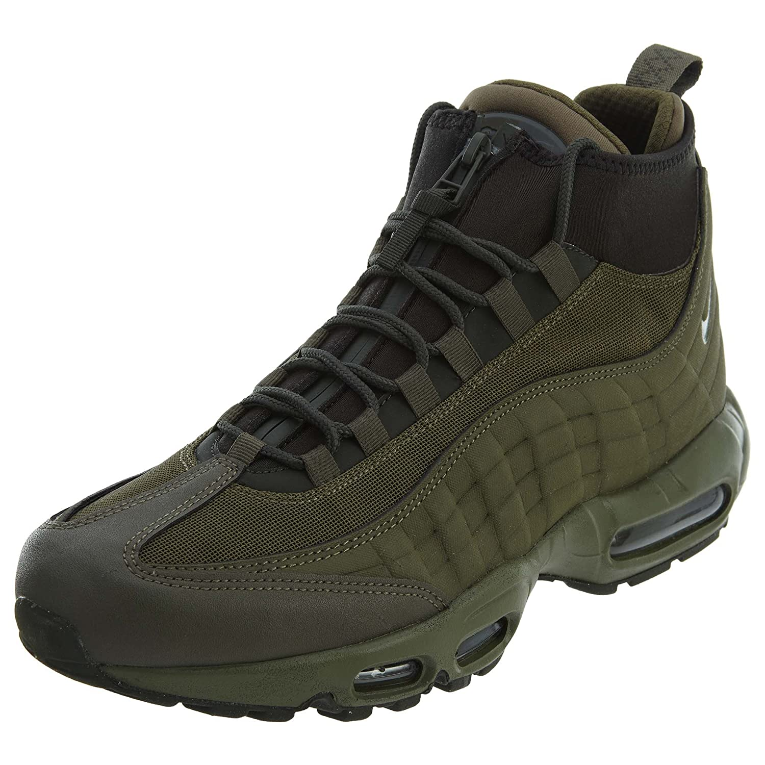 b3520ca6fce0ce Nike Air Max 95 Sneakerboot 806809-202 Boots Green Mens Trainers Sneaker  Shoes Size  EU 42.5 US 9  Amazon.co.uk  Shoes   Bags