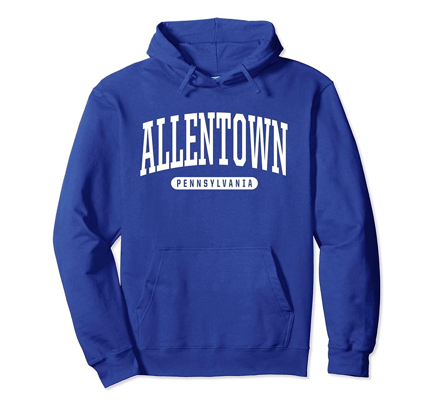 Allentown Hoodie Sweatshirt College University Style PA USA-TH