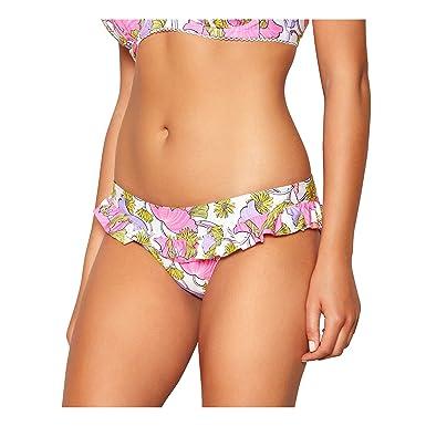 7307a6c874 Debenhams Floozie Frost French Yellow Floral Print Bikini Bottoms 18:  Debenhams: Amazon.co.uk: Clothing