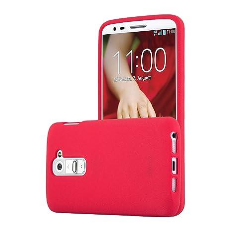 Cadorabo Funda para LG G2 Mini en Frost Rojo: Amazon.es ...
