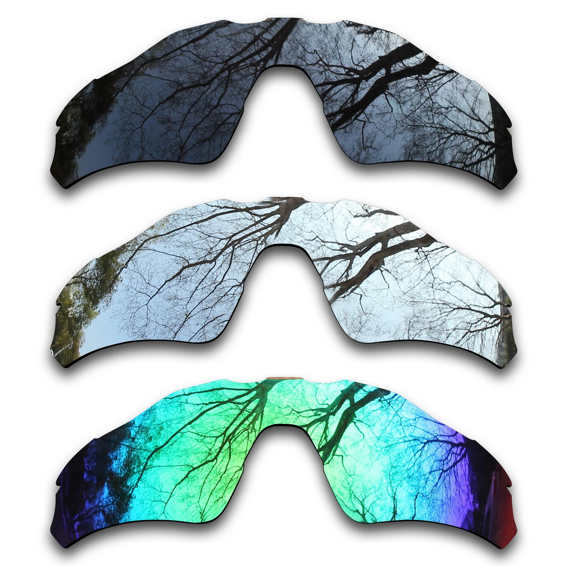 ToughAsNails 3Pair Polarized Replacement Lenses for Oakley Radar EV Path Pack-BSE4