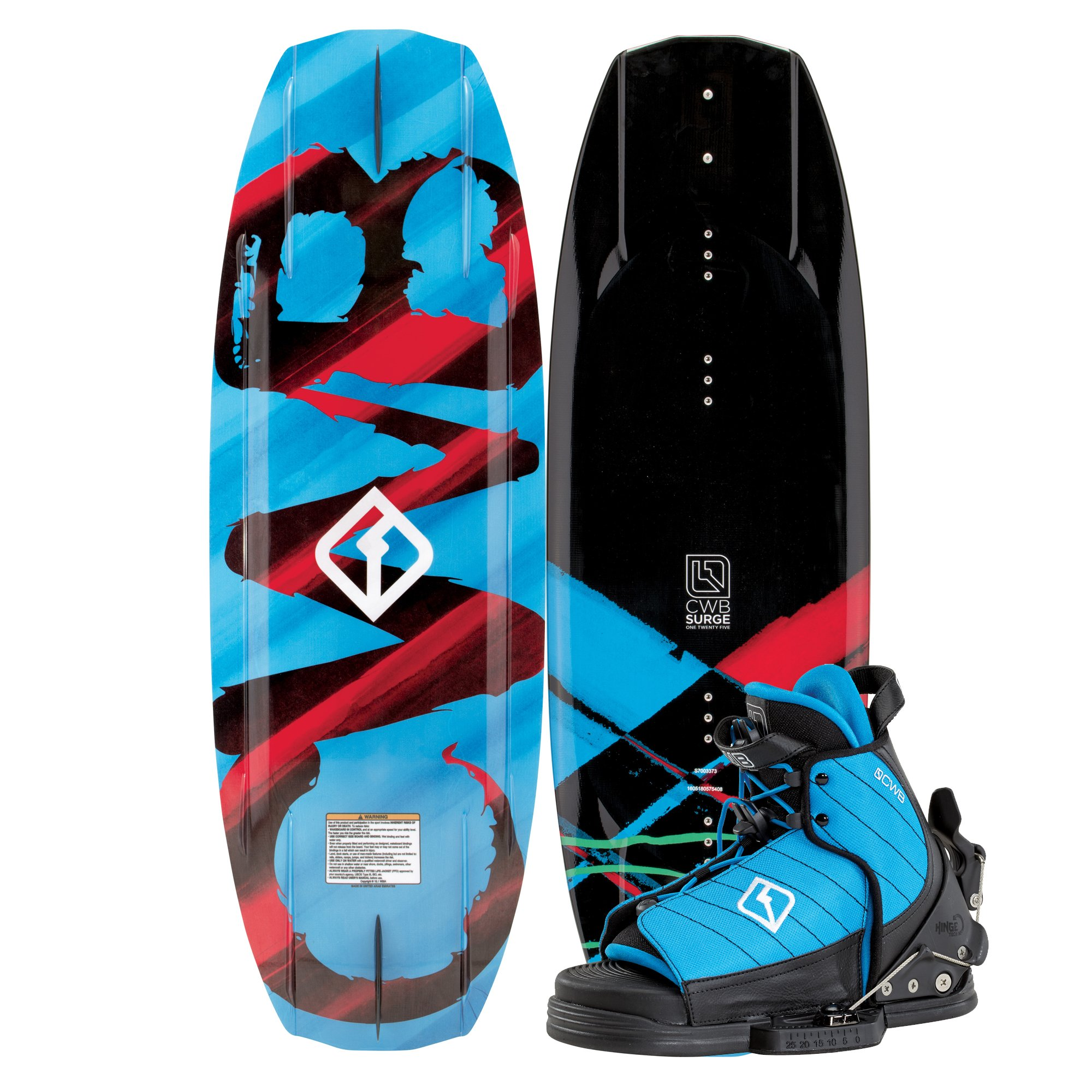 Connelly Surge 2017 Tyke Kids Wakeboard for Age (1-4), 125cm by CWB