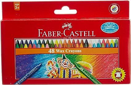 Faber-Castell – Ceras de 48 Shades- (Pack de 2) -total-96 shades ...