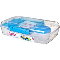 Sistema 21671 Go Collection Bento Box Clear, Large, Assorted Colors