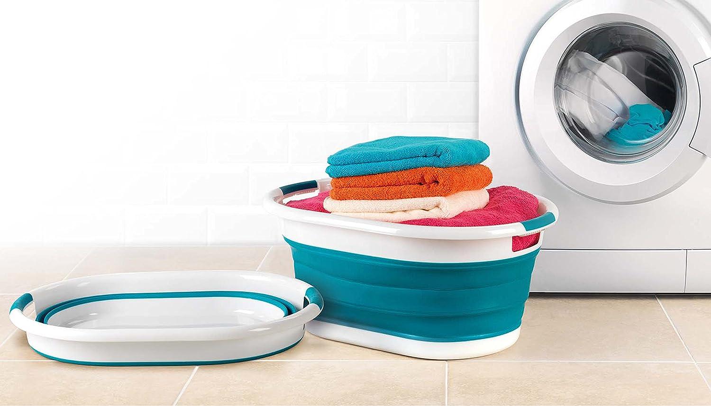 Grau Beldray LA034816 Collapsible Laundry Baskets