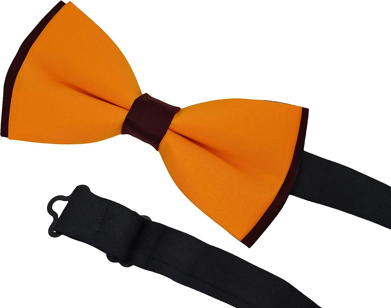 5 Pcs Heymei Men's/Boy's Ajustable Pre-Tied Formal Necktie Bow Tie Jacquard Dots B5 (5 Colors Red Blue Yellow Black Dark Blue)