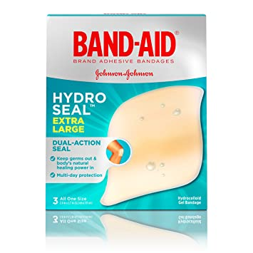 amazon com band aid brand hydro seal extra large waterproof