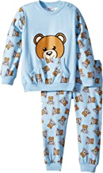 f76fac24 Moschino Kids Mens All Over Teddy Bear Print T-Shirt & Pants Set (Infant