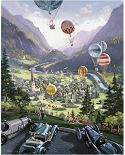 Pintoo - H1636 - Michael Young - Up Up and Away - 2000 Piece Plastic Puzzle