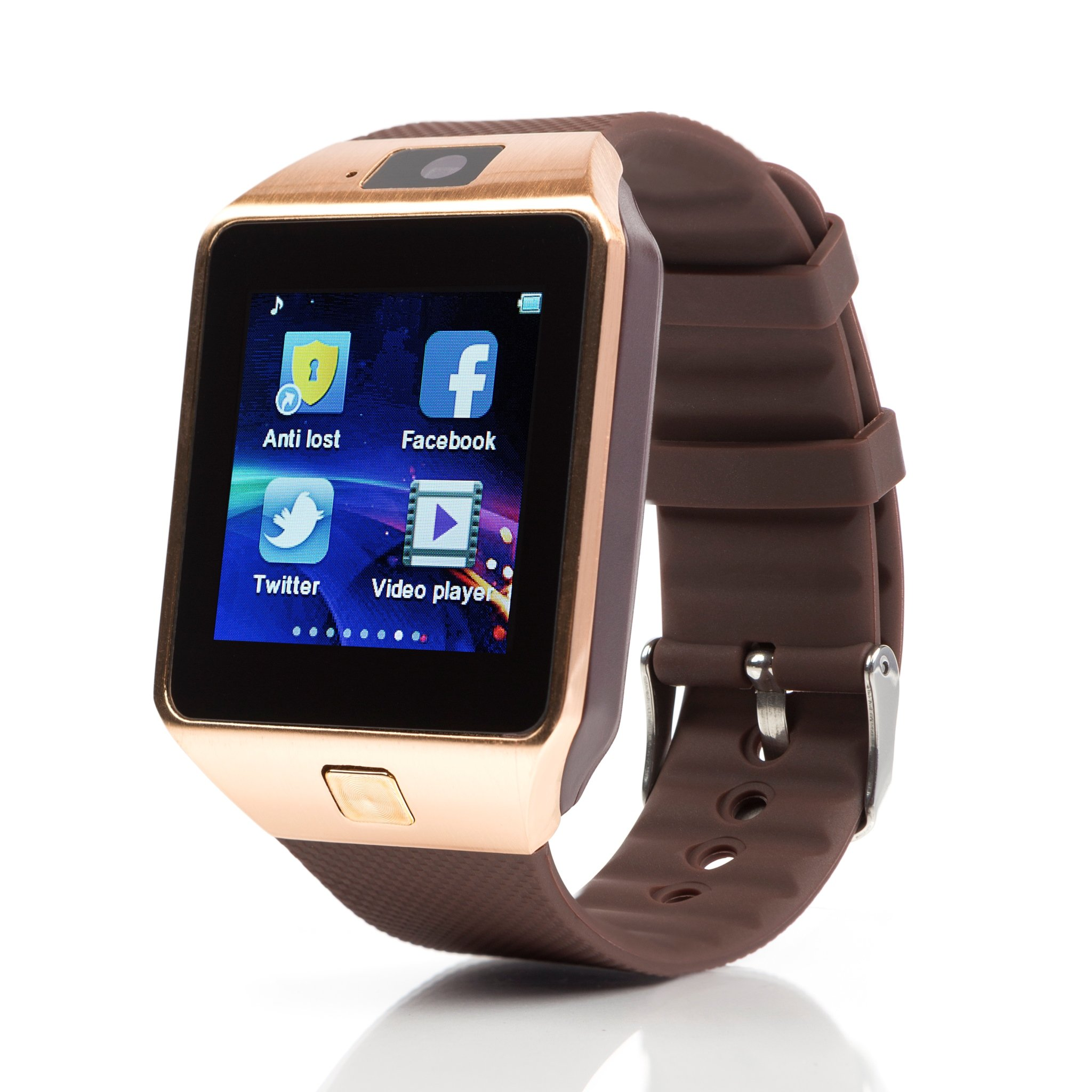 TechComm DZ09 Smart Watch With 0.5 Mp Camera Bluetooth Gsm For Android Phones