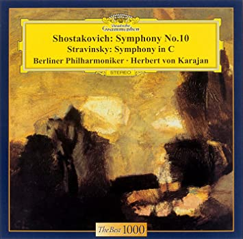 ショスタコーヴィチ:交響曲第10番 / ストラヴィンスキー:交響曲 ハ調