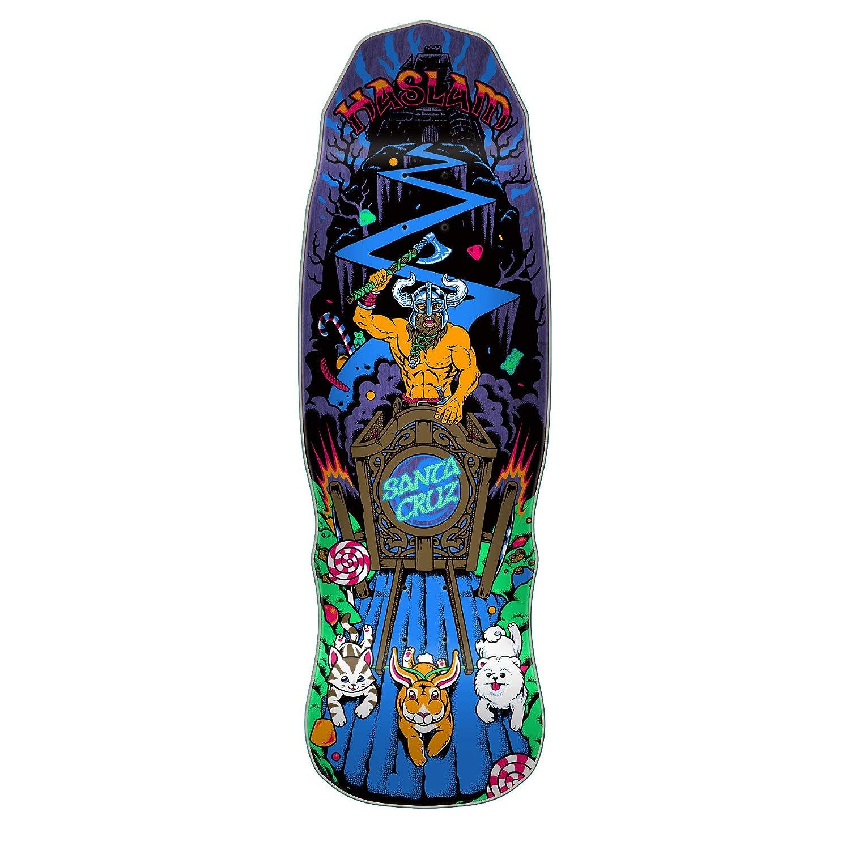 Santa Cruz Haslam Snack Warrior Guest Pre Issue 8.96 X 32.15 Skate
