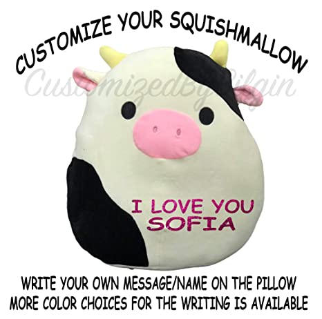 5b2681df9559 Image Unavailable. Image not available for. Color: Squishmallow Customized  Original Kellytoy ...