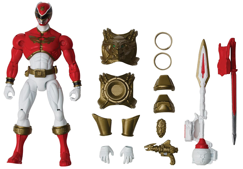 Bandai Power Rangers Megaforce Deluxe 35176 Rüstungs Ranger: Amazon ...