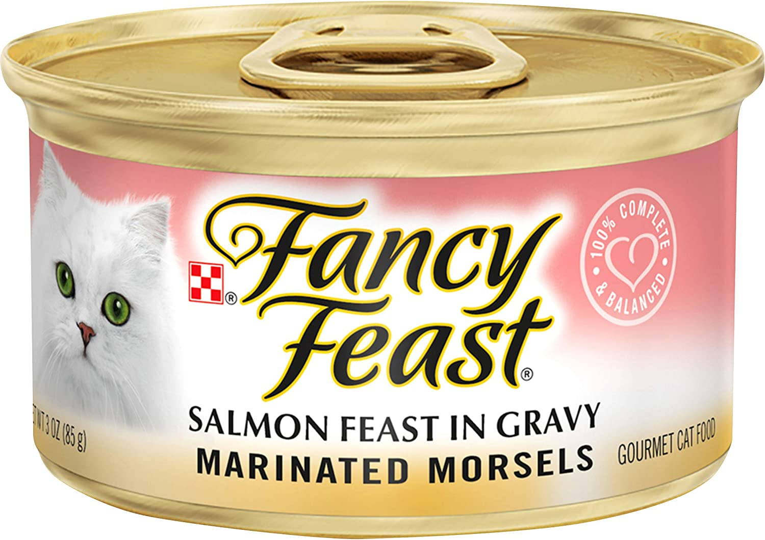 Purina Fancy Feast Sliced & Marinated Morsels Feast in Gravy Wet Cat Food