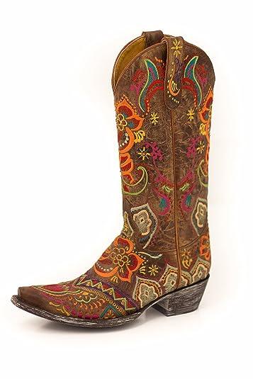 b7e0ecda275 Amazon.com | Old Gringo Boots Olivia 13