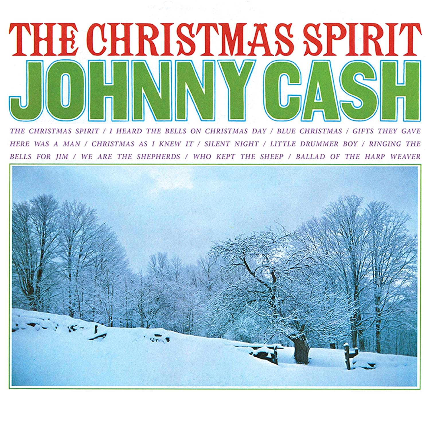Johnny Cash - The Christmas Spirit (180 Gram Translucent Blue ...