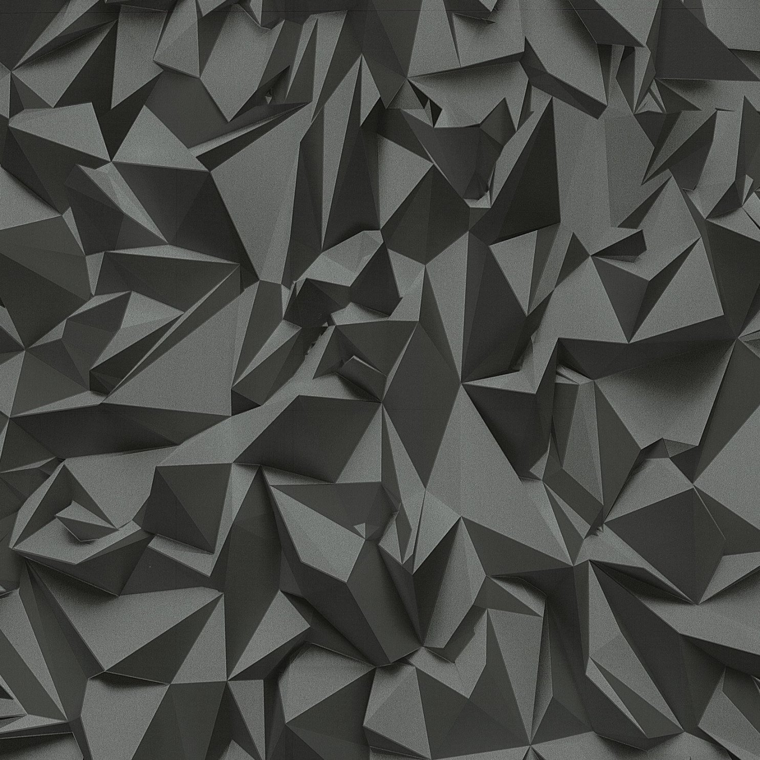3D Effect Black Silver Futuristic Metallic Vinyl Wallpaper Amazon