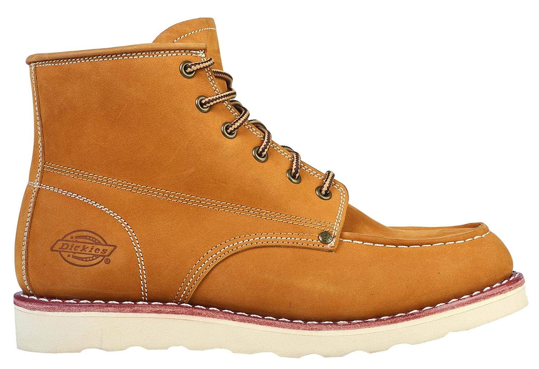 Hombre Zapato Dickies Botas Orleans Dedo New Bota Moc De Para Cuero Toe P8O0knwX